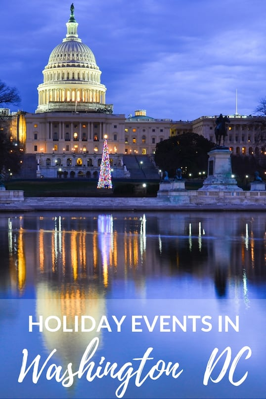 The Best Washington DC Christmas Events for Families [in 2019]! 5