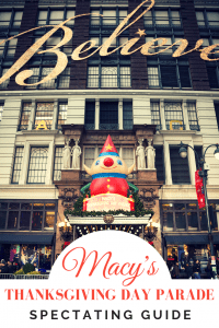 The Macy's Thanksgiving Parade NYC- Tips & More! 1