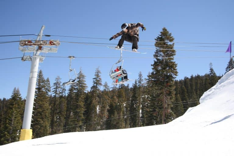 Sierra at Tahoe Snowboarding