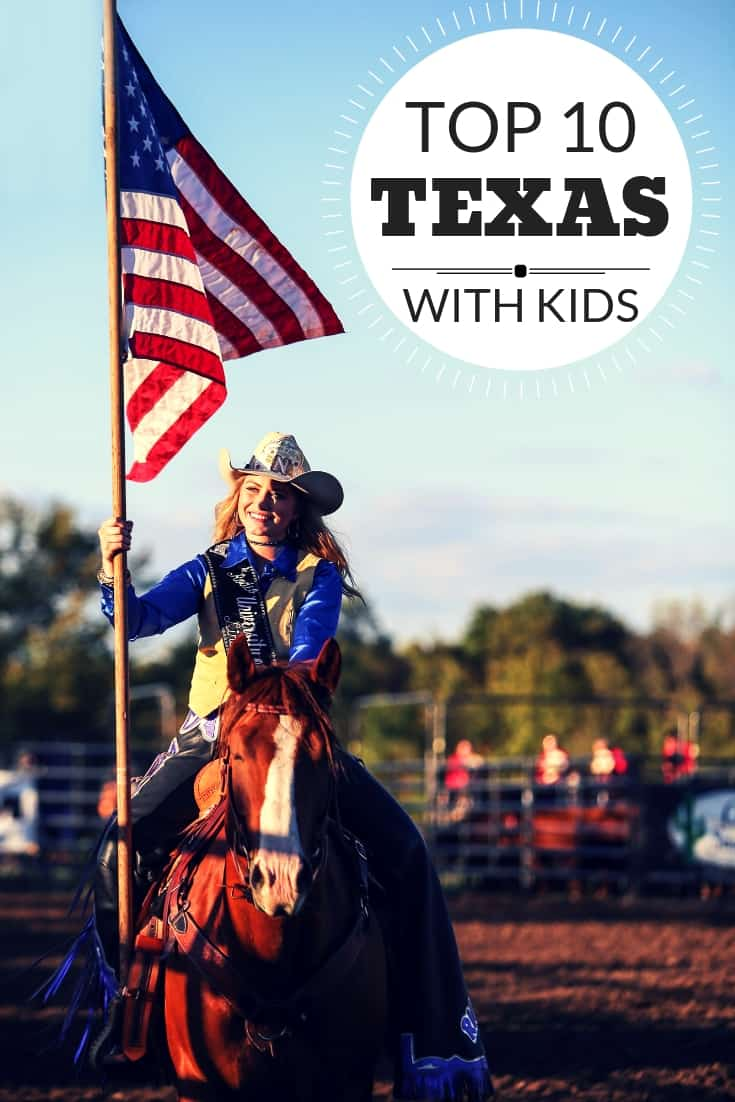 Heading to the Lone Star State with kids? We've found the top 10 things to do in Texas with kids!  Photo by: Shutterstock.com