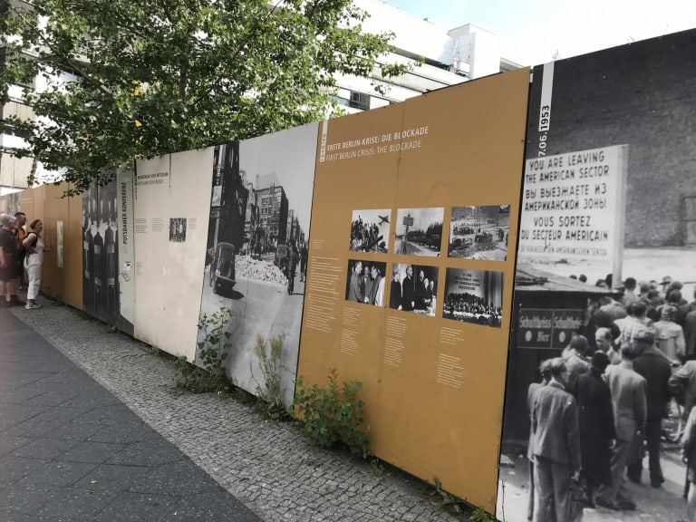 Berlin with kids Checkpoint Charlie