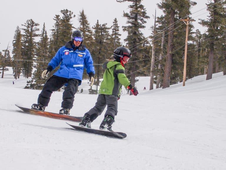 Ski and snowboard Lake Tahoe with kids