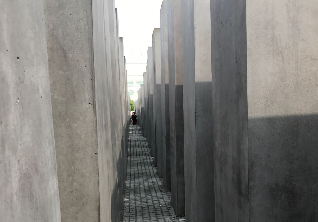 Berlin with kids memorial