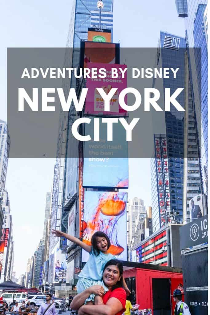Disney New York City Tour