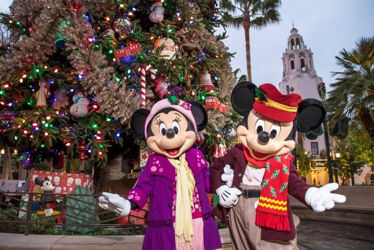 Disneyland Christmas 2019