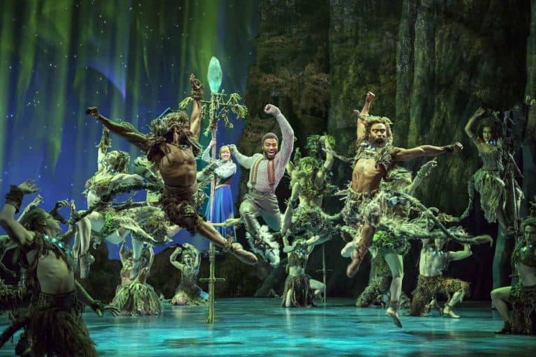 Frozen on Broadway musical - Hidden Folk