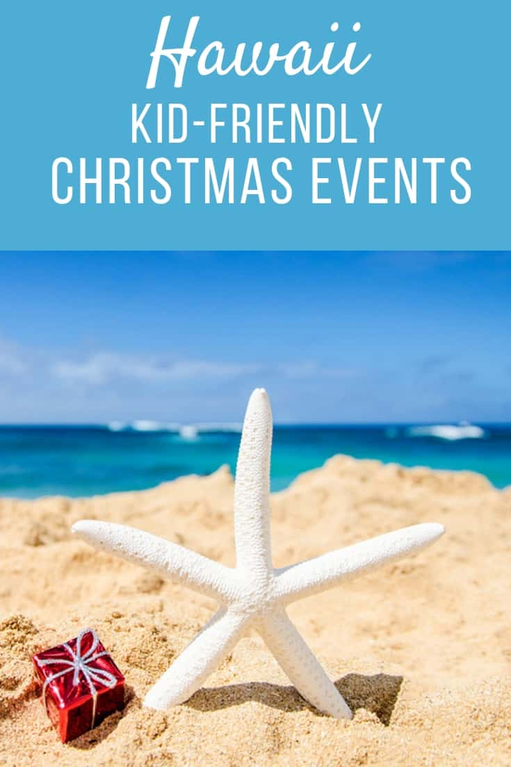 Looking to spend the holidays in paradise? We share the best kid-friendly Hawaii Christmas events on Oahu, the Big Island, Maui and more! #Hawaii #Christmas Pin photo credit: Bigstock.com/EllenSmile