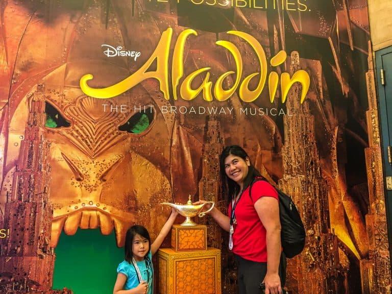 New Amsterdam Theatre Tour - Aladdin's Lamp
