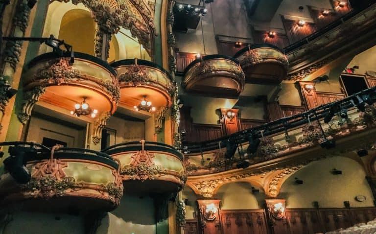 The Restored New Amsterdam Theatre Tour