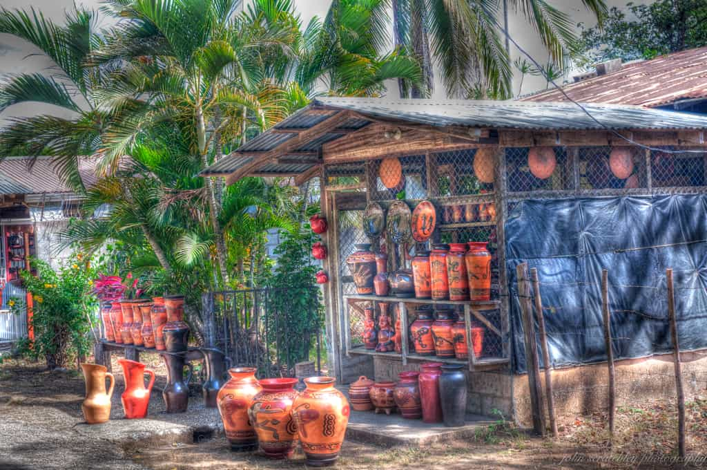 Pottery at Guaitil Costa Rica