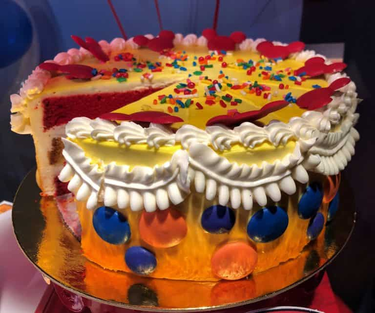 Celebration Cake Disneyland