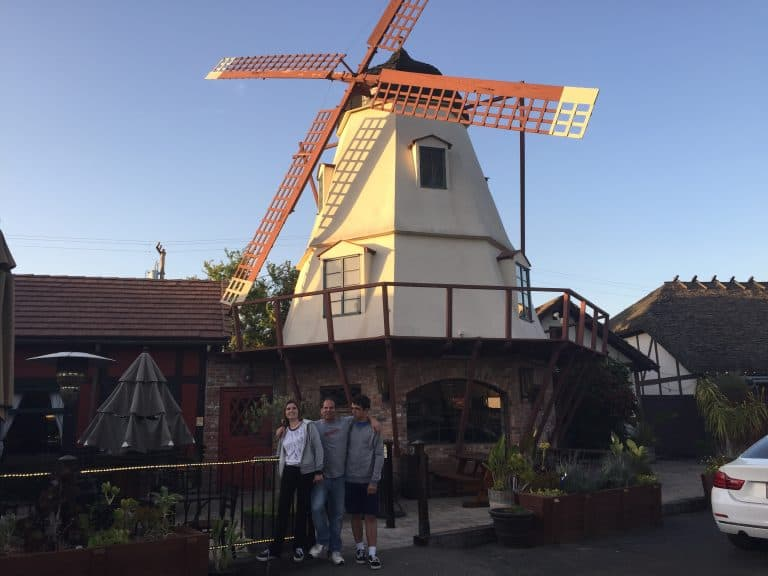 California college tour college visits Solvang