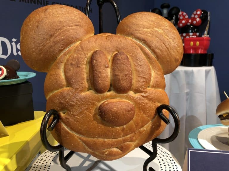 Sourdough Mickey Mouse Disneyland