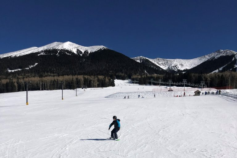 arizona-ski-resorts include the Arizona Snowbowl in Flagstaff