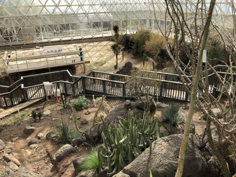 Biosphere Tucson biosphere 2