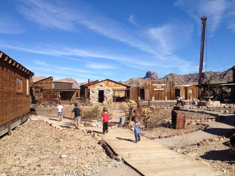 Things to do in Yuma include the Castle Dome Ghost Town
