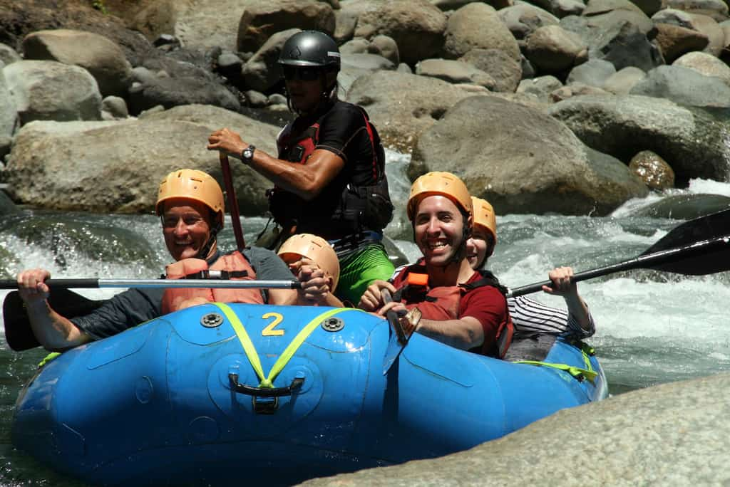 rafting costa rica photo Arenal Volcano Costa Rica