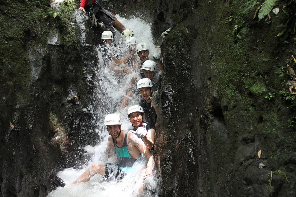 Canyoneering Costa Rica photo Arenal Volcano La Fortuna