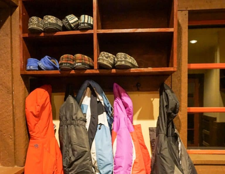 Beaver Creek Allies Cabin Coat Room