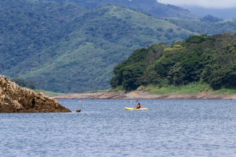 Kayak Tour of Lake Arenal Costa Rica