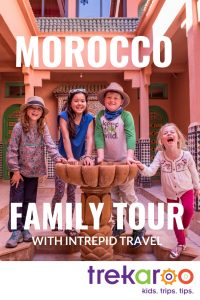 Morocco travel with kids