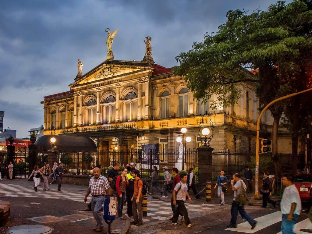 San Jose Costa Rica National Theater