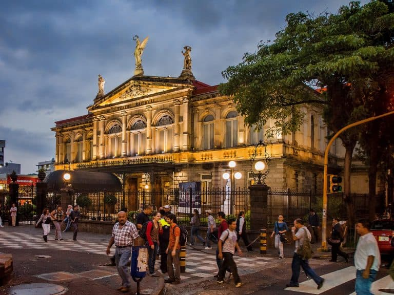 San Jose Costa Rica National Theater