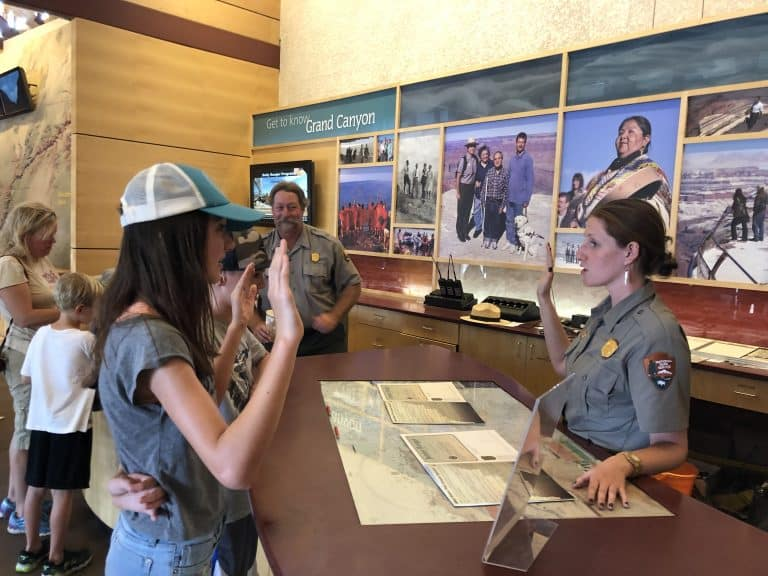 things to do in the Grand Canyon with kids Junior Ranger