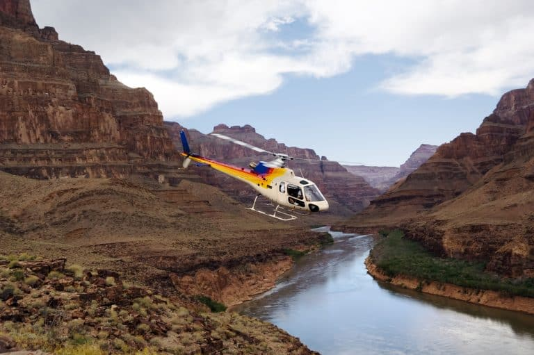 things to do in the Grand Canyon with kids helicopter