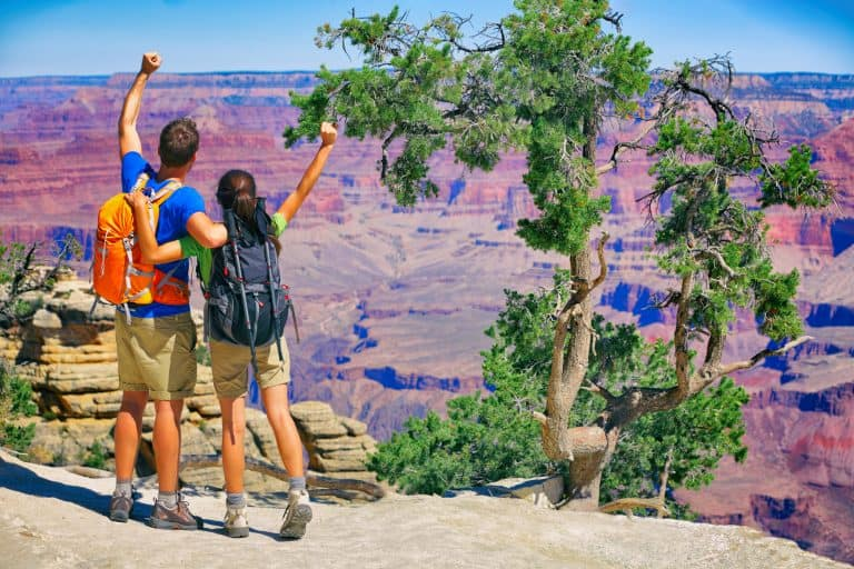 thigns to do in the Grand Canyon with kids hiking