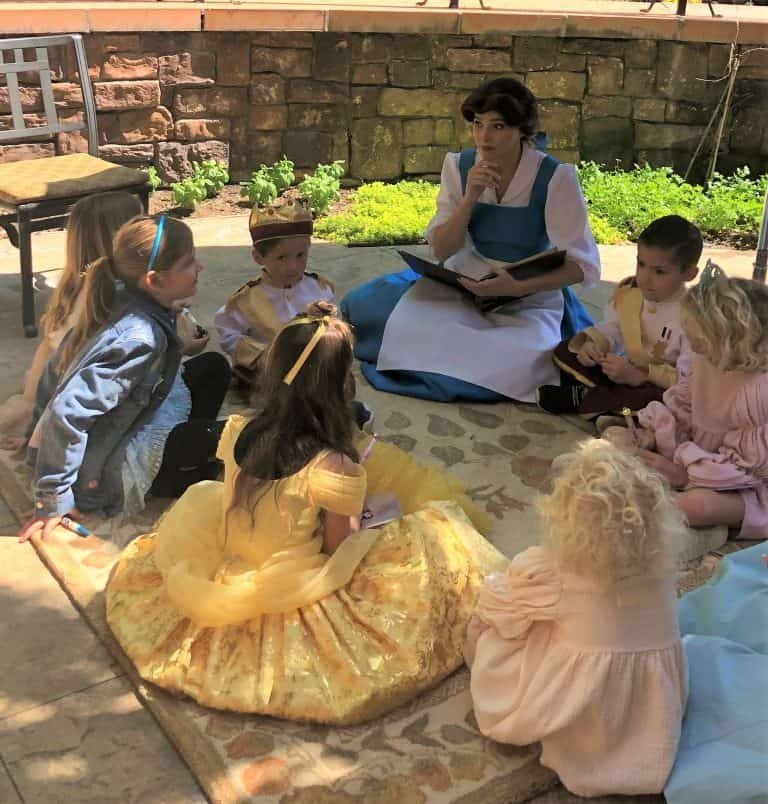 Belle Story Time Disney Princess Breakfast Adventures
