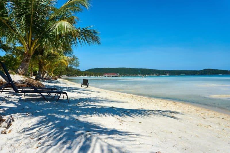 Cambodia Beach - Koh Rong Sanloem Island