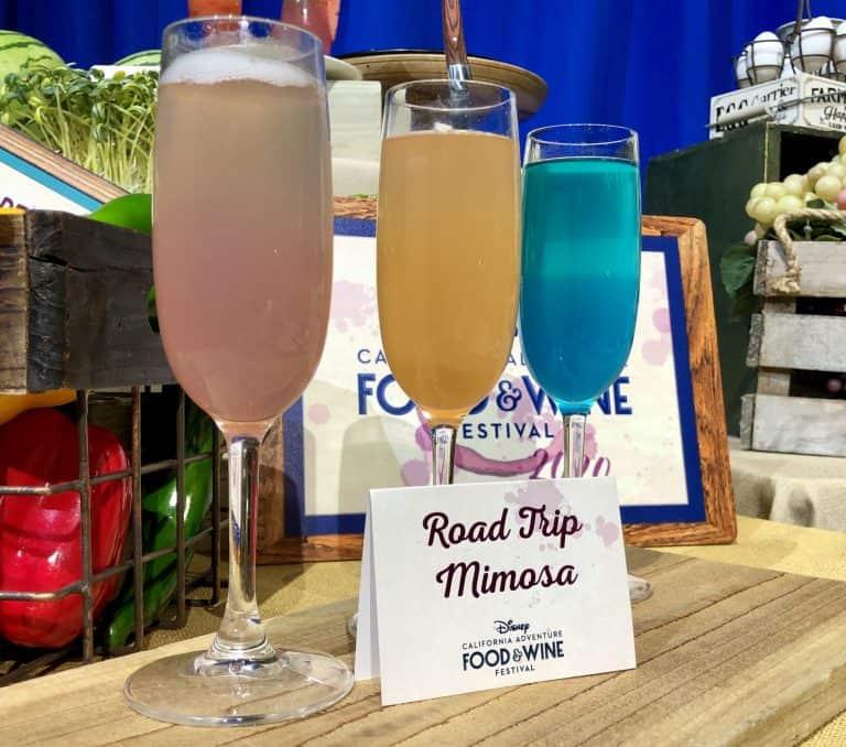 Road Trip Mimosa Flight