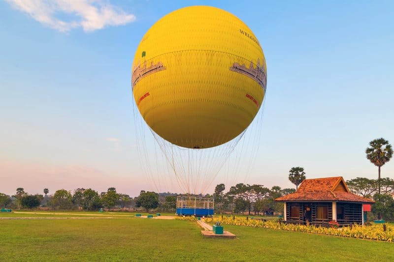 Siem Reap Hot Air Balloon Tour