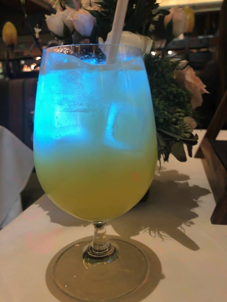 Colors of the Wind drink Disney Princess Breakfast Adventures