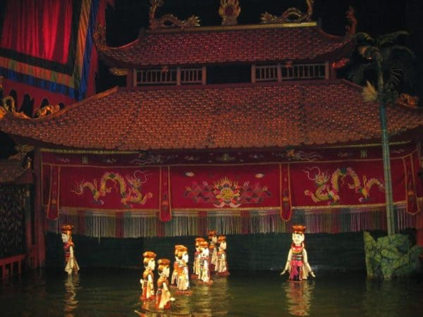 Vietname Hanoi Tour - Water Puppets Show