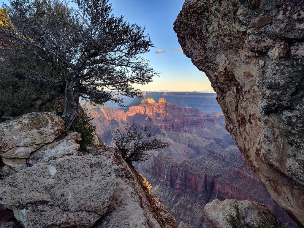 grand canyon north rim view