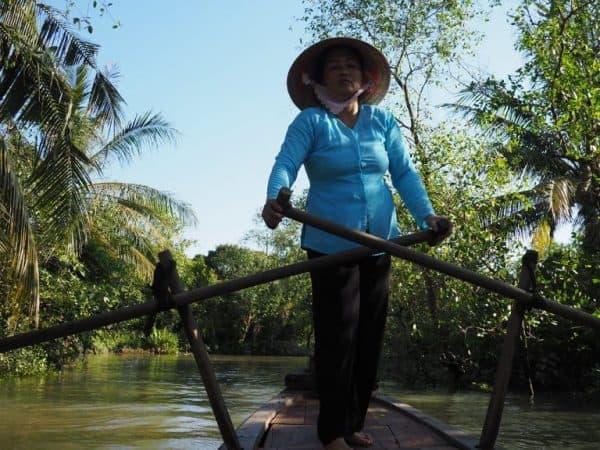 Cai Be Vietnam Sampan Boat