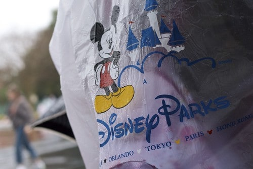 disney ponchos photo