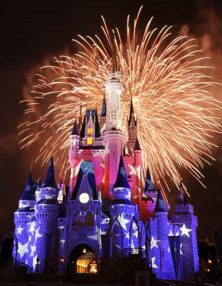 4th of July Magic Kingdom
