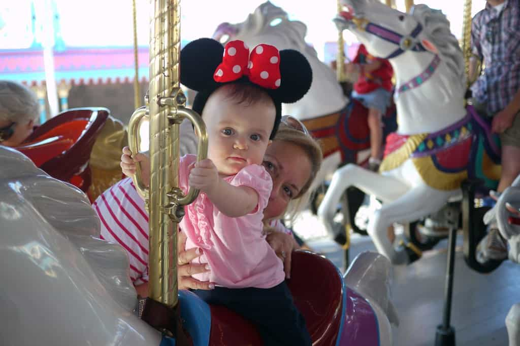 baby magic kingdom photo