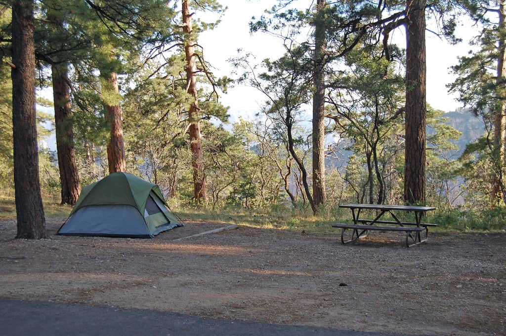 north rim grand canyon campground photo