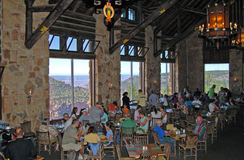 north rim grand canyon lodge dining photo