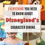 Trekaroo's Insider Guide to Disneyland Character Dining 1