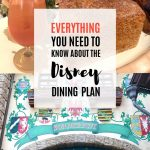 Everything You Need to Know About the Disney Dining Plan 1