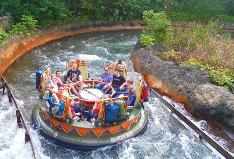 Kali River Rapids best rides at Disney World