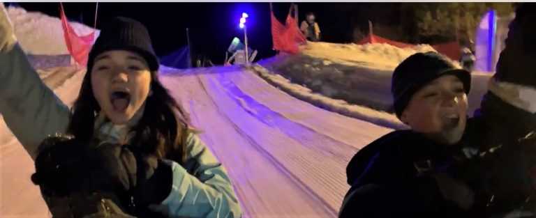 night tubing Big Bear