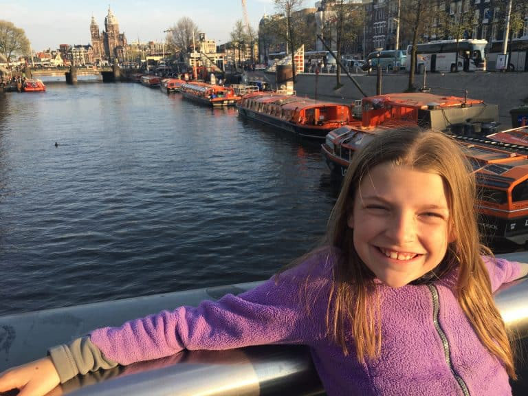 One day in Amsterdam with Kids