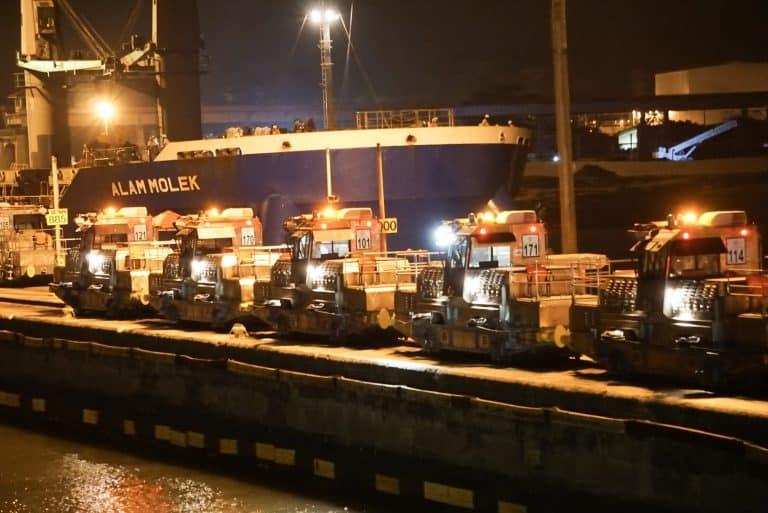 Panama Canal Cruise Miraflores Lock Mules