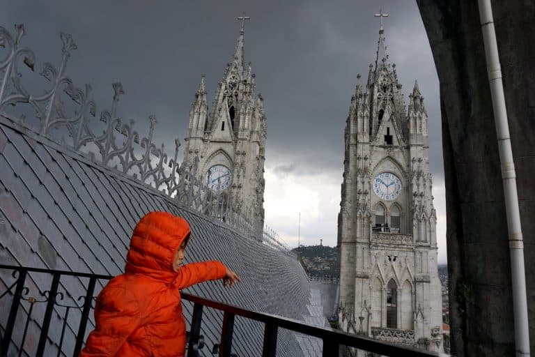 Basilica de Voto Nacional - Quito, Ecuador